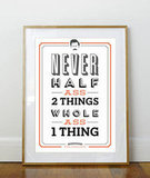 Ron Swanson Quote Print ($20)