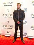 Joshua Jackson stepped out in Vancouver for the Fringe100 episodes and final season party.