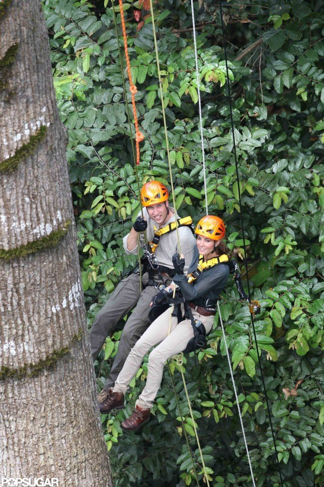 Prince William and Kate Middleton were in the rain forest of Borneo in September to explore the region and visit with conservation workers at the Danum Valley research center.