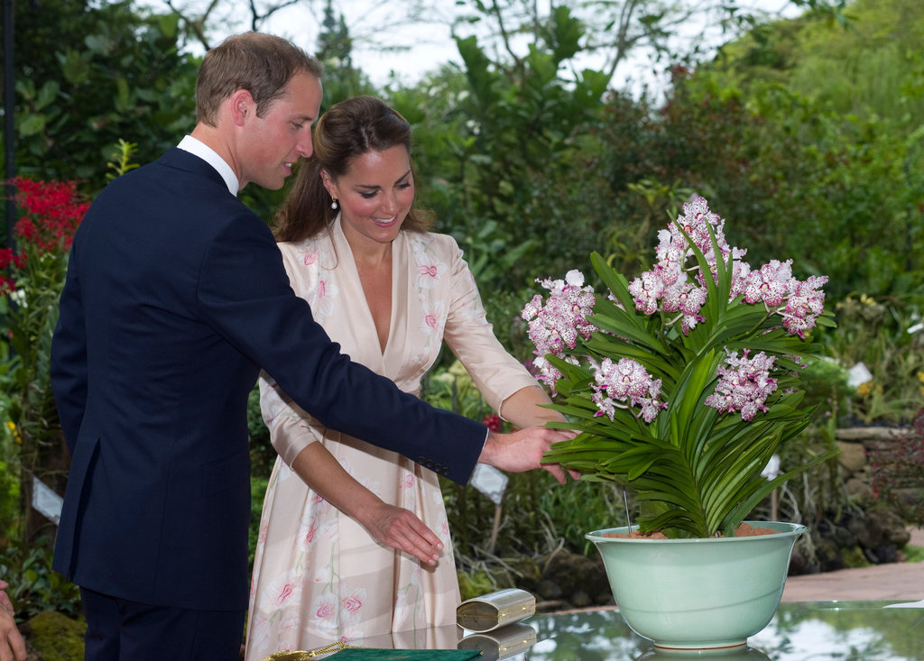 Prince William and Kate Middleton visited Singapore during their Diamond Jubilee tour in September 2012.