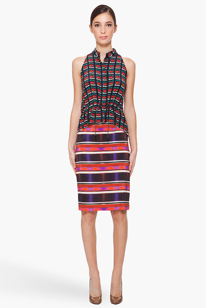 At first glance, this Michael Angel Layered Silk Dress ($252, originally $840) might come off as too trendy, but the gorgeous print and flattering shape make this one-of-a-kind find worth the money.