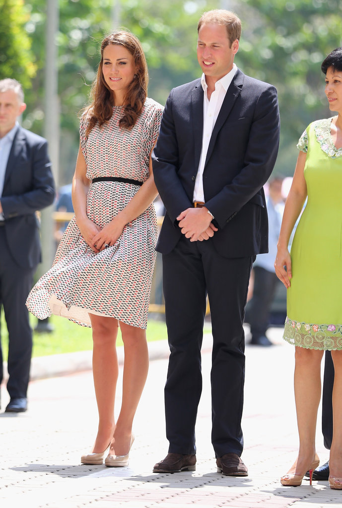 The Royal Couple at a Cultural Event in Queenstown