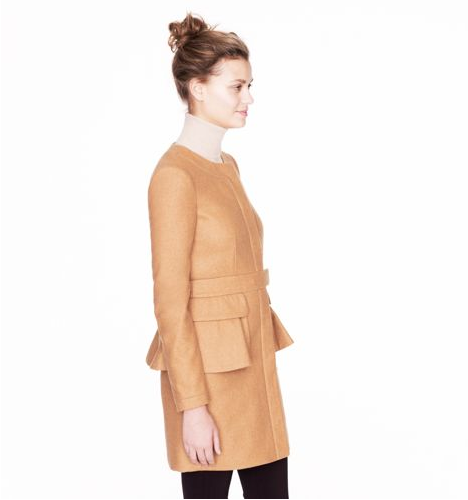 We've had our eye on this J.Crew Wool Cashmere Peplum Coat ($290, originally $425), and now that it's on sale, it's time to pull the trigger.