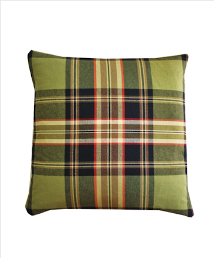 Capture the feel of a chic ski chalet with this Preppy Plaid Throw Pillow ($68).