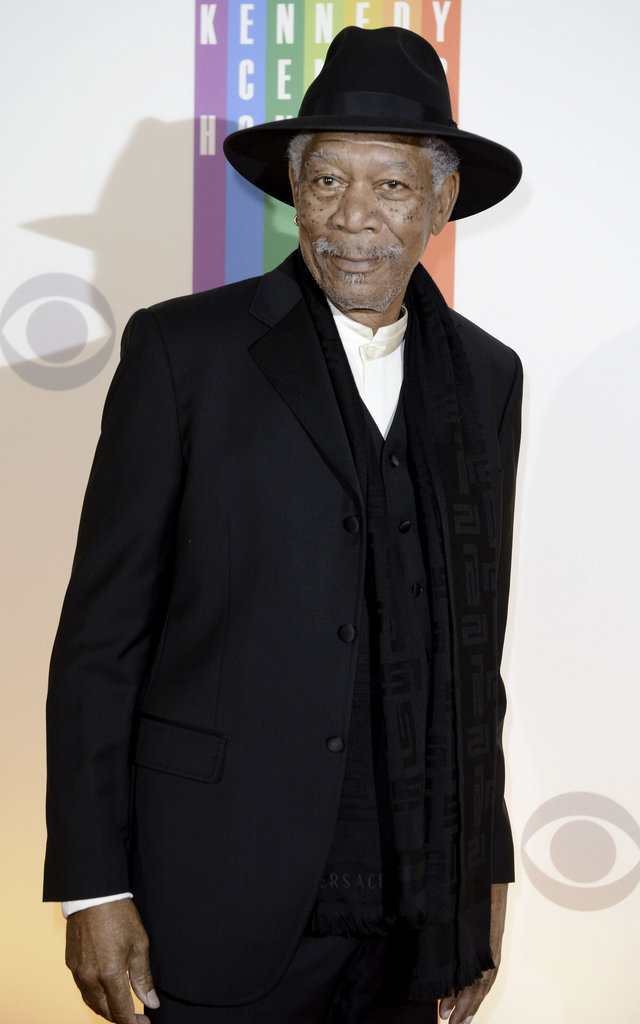 Morgan Freeman presented at the Kennedy Center Honors.