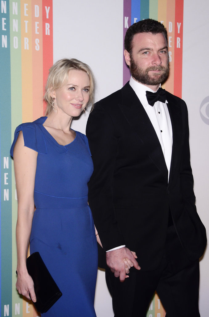 Naomi Watts and Liev Schreiber arrived hand in hand.
