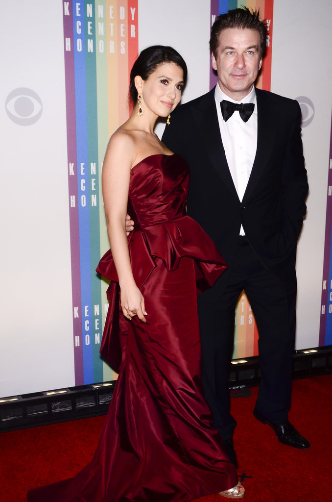 Hilaria Thomas and Alec Baldwin attended the Kennedy Center Honors together.