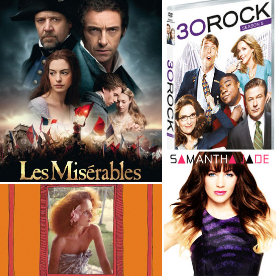Movies, TV Shows, Music and Books Out in December 2012
