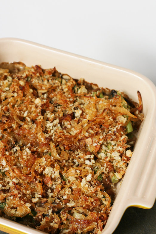 Asian-Influenced Green Bean Casserole