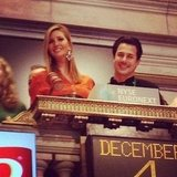 Ivanka Trump rang the closing bell at the New York Stock Exchange. Source: Instagram user ivankatrump
