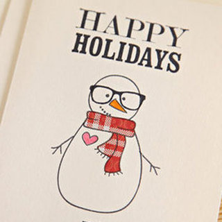 Geeky Holiday Cards From Etsy