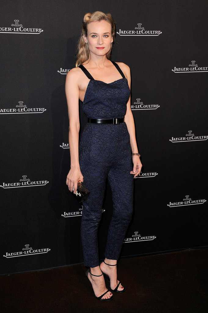Diane Kruger's Jason Wu jumpsuit is a hot alternative to the usual party fare at the Jaeger-LeCoultre boutique opening in Paris.