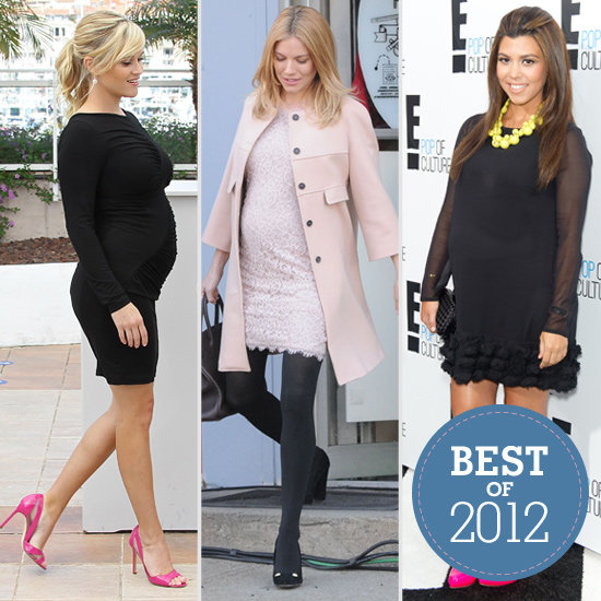 Best Celebrity Maternity Style In 2012 Popsugar Moms