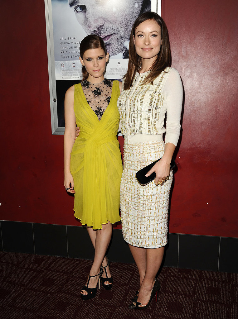 Kate Mara and Olivia Wilde
