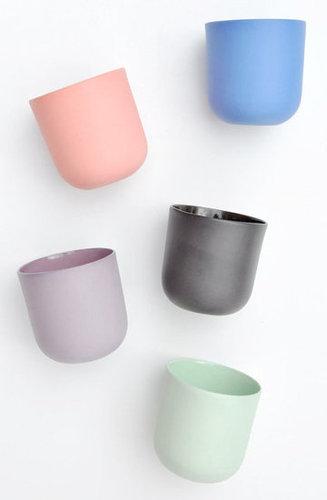 Matte Porcelain Tea Cups