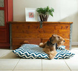 Chevron Dog Bed