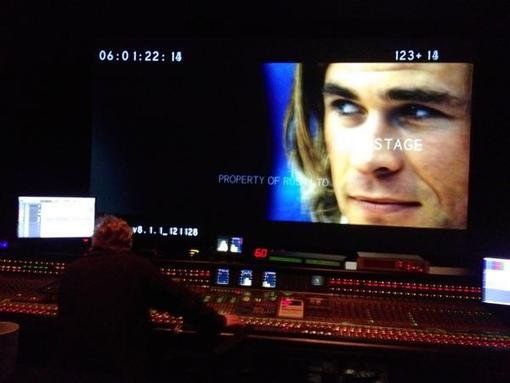 Ron Howard tweeted a supersneak peek of footage of Chris Hemsworth in his upcoming film Rush. Source: Twitter user RealRonHoward