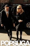 Reese Witherspoon sported an all-black ensemble in NYC.