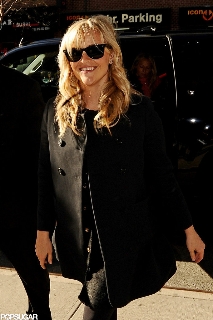 Reese Witherspoon sported a pair of shades.