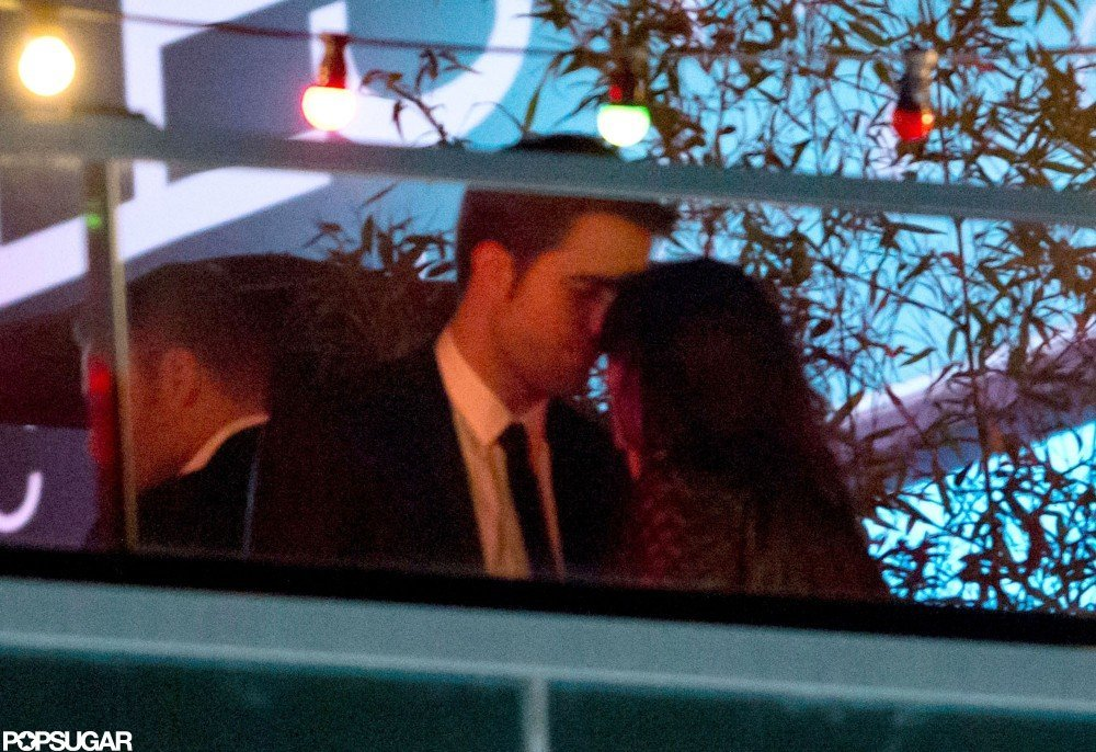 In May, Robert Pattinson and Kristen Stewart kissed late into the night at an afterparty in Cannes.