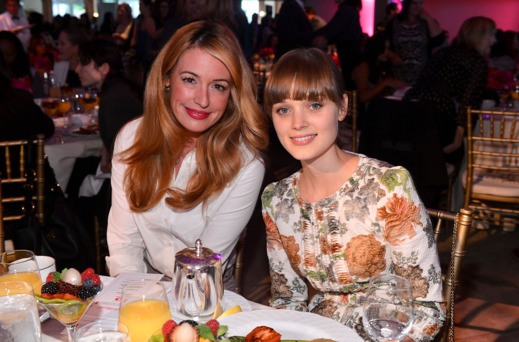 Cat Deeley and Bella Heathcote attended The Hollywood Reporter's Power 100: Women in Entertainment breakfast in LA.
