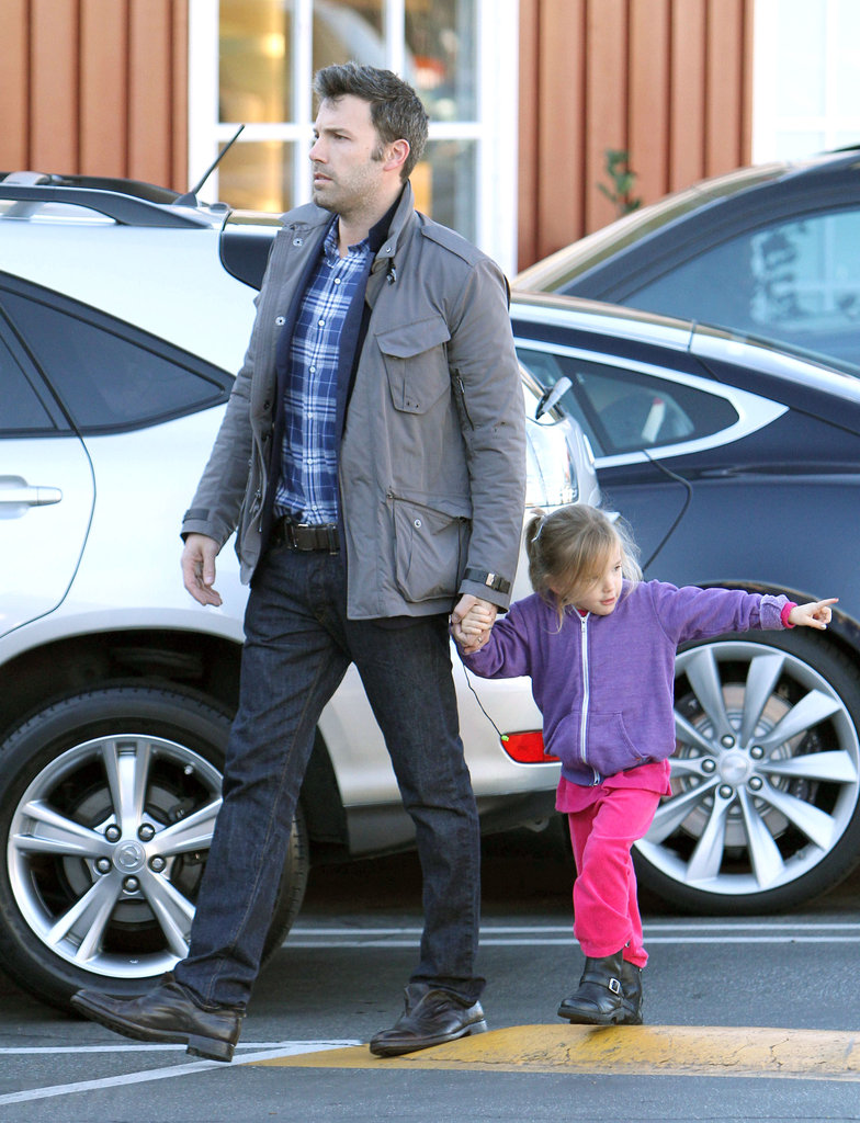 Seraphina followed next to Ben Affleck.