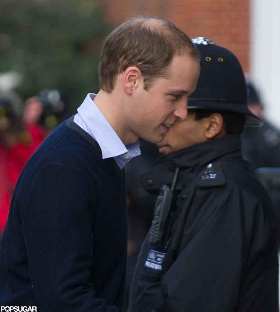 Prince William walked in London.