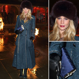 Poppy Delevingne at Chanel Metiers d'Art Pre-Fall 2013 Show