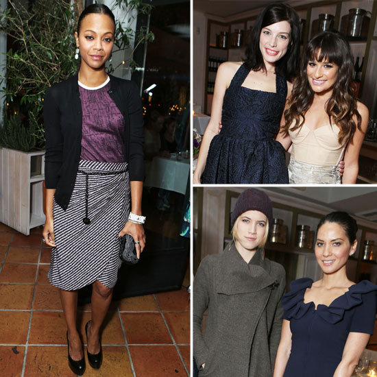 Guess Who's Coming to Dinner? Zoe, Lea, and More Toast Marie Claire