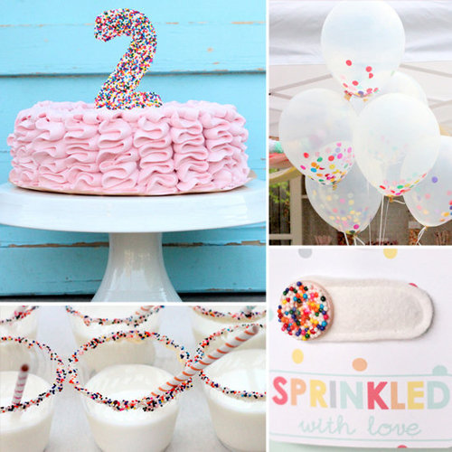 Birthday Parties: A Sweet, Sprinkles-Inspired Second Birthday Party