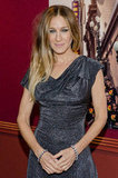 SJP hit the red carpet in a dress from Vivienne Westwood.