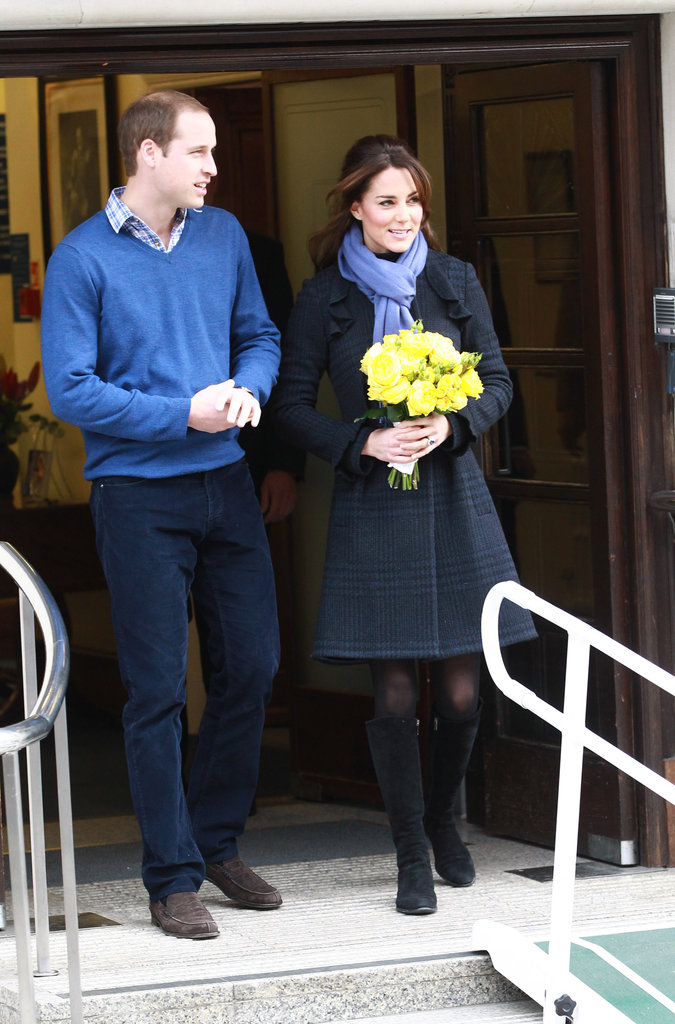 Kate Middleton Leaves the Hospital