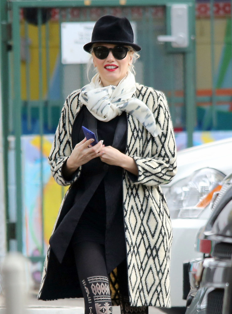 Gwen Stefani Makes a Coffee Run and Talks About Taking a Break
