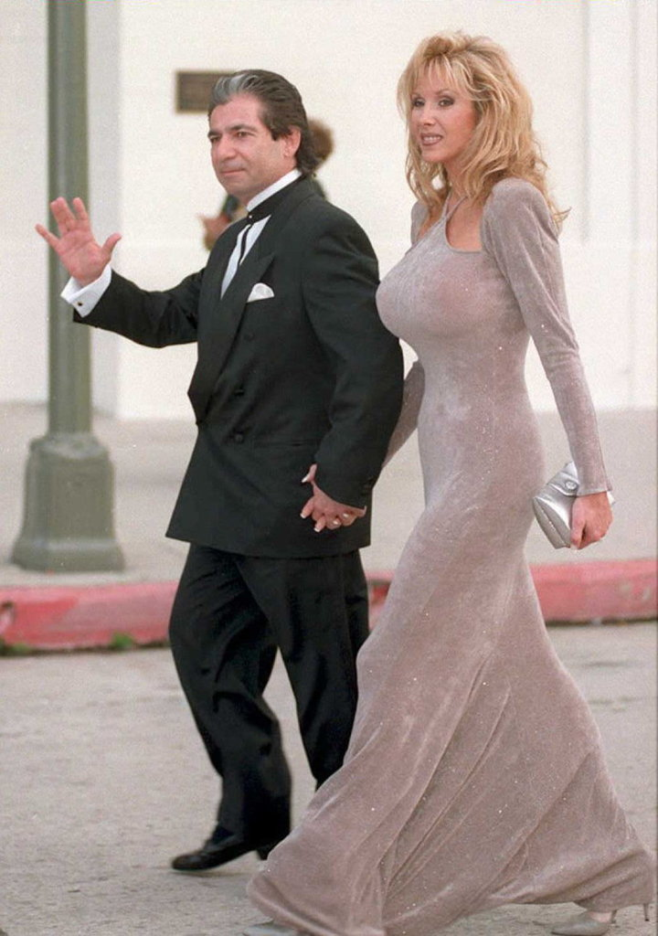 Robert Kardashian and Denice Shakarian Halicki, 1995