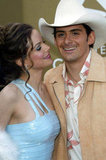 Kimberly Williams and Brad Paisley, 2004
