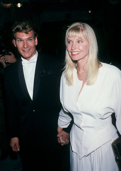 Patrick Swayze and Lisa Niemi, 1990