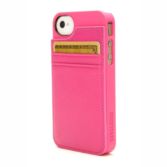 Boostcase Hybrid Snap-On Case and Detachable Leather Wallet, approx. $38