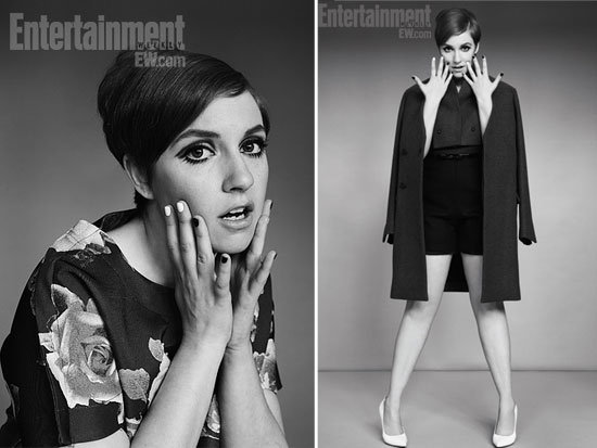 Go-Go Girls: We Rate Lena Dunham's Modish Makeover