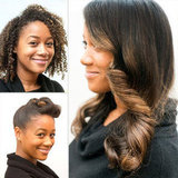 Two Party-Perfect Hairstyles For Curly Hair