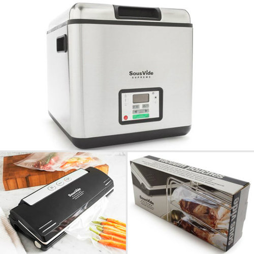 Sous Vide Machine, Vacuum, and Bags