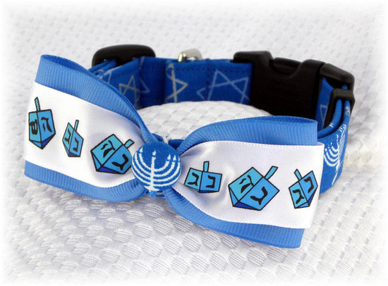 Hanukkah Dog Collar