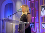 Reese Witherspoon spoke on stage in Beverley Hills.