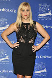 Reese Witherspoon Hits a Charitable Red Carpet in a Tight, Lacy Dress