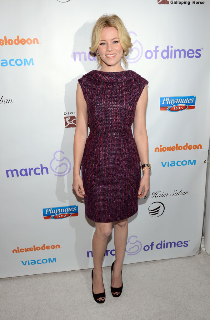 Elizabeth Banks attended a March of Dimes Celebration of Babies event.