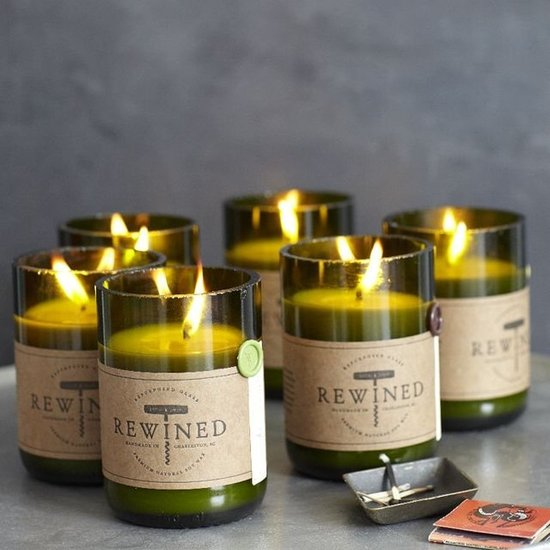 Here's a fun spin on bringing a bottle of wine: a wine candle! West Elm Rewined Candles ($20) come in all different wine-inspired scents, from Cabernet to Sauvignon Blanc.