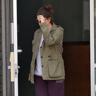 Celebrity Leaving Gym in Uggs | Picture