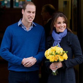 Pregnant Kate Middleton Leaves Hospital