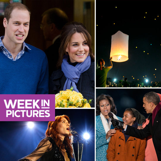 Pregnant Kate Leaves Hospital, the Obamas Sing at Tree Lighting, and the World Gets a Holiday Glow