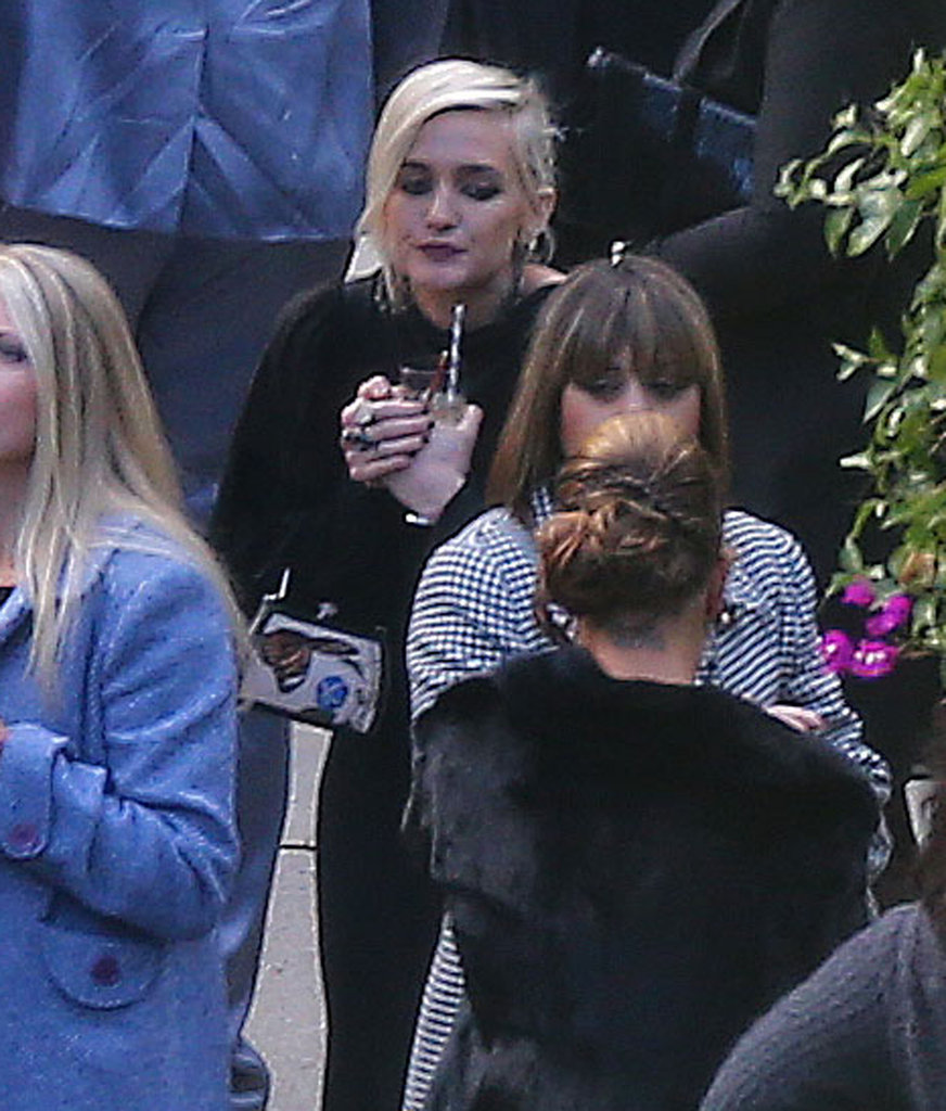 Ashlee Simpson attended CaCee Cobb and Donald Faison's wedding.