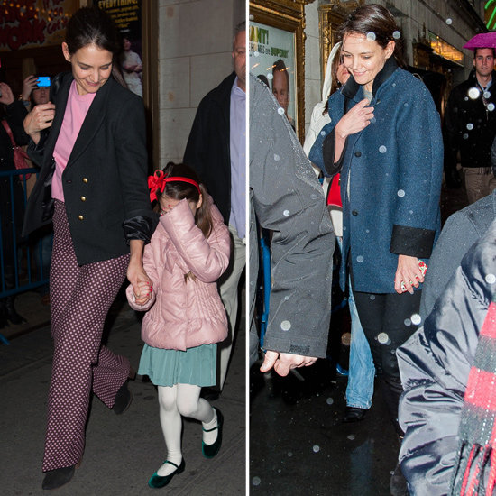 Katie Gets an Honor — and Brings Suri to Her Broadway Show